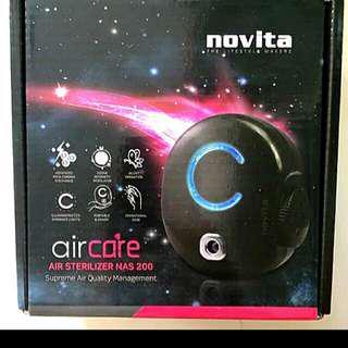 Bnib Novita Aircare sterilizer NAS 200 oxygen plant ps2.5 dust odour