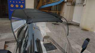Roof deflector for adiva ad3