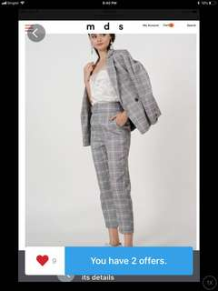 BN MDS contemporary pants and jacket