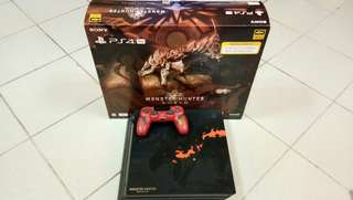 PS4 Pro Monster Hunter Limited Edition