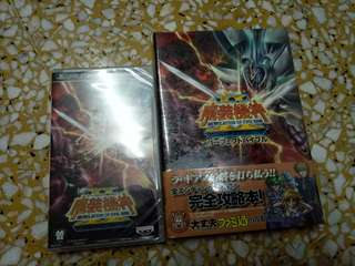 Super Robot Taisen Wars Revelation of Evil God OG SAGA GAME & BOOK