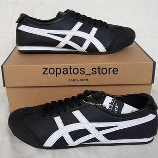 Onitsuka white black