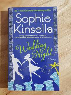 Wedding Night by Sophie Kinsella novel / book