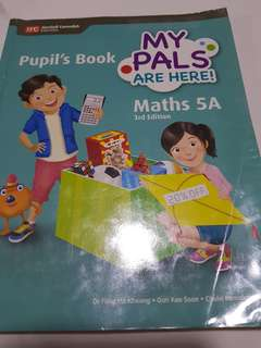 P5 mathematics textbook