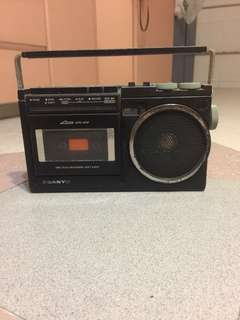 vintage sanyo radio player