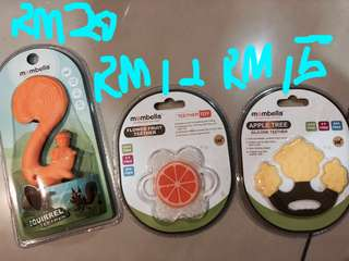 Mombella teether by coby hous, Korea hot selling teether