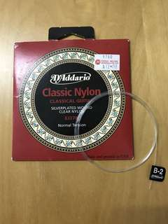 D'Addario Classical Guitar Nylon Strings