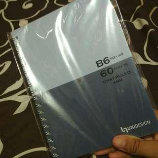 Buku Notes Bergaris