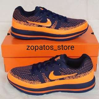 Nike pegasus navy orange