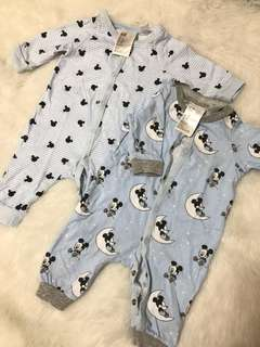 H&M Sleepwear Fits up to 6mos