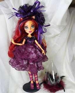 Toralei custom made monster highdolls