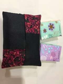 Handmade pocket tissues holder