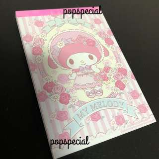 Last Book Left @$9.80 My Melody Writing Memo book
