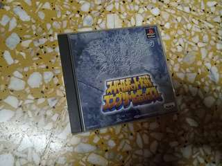 Super Robot Wars Taisen Complete Box PS 1 Rare PS1