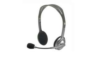 Logitech head set phones h110