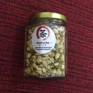 Jasmine flower tea 茉莉花茶