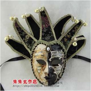Masquerade jester mask