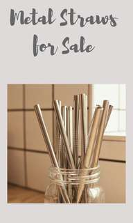 Affordable Metal Straws
