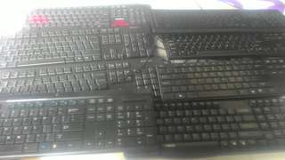 Bundled Sale 8pcs Keyboards