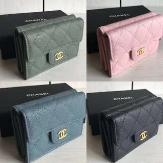 Chanel Multi Compartment Small Wallet