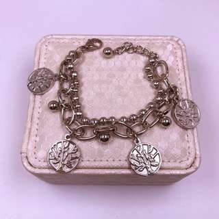 tree of life stainless bracelet
