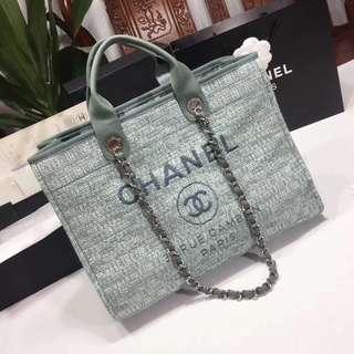 面交  Chanel 香奈兒經典購物袋  多色可選