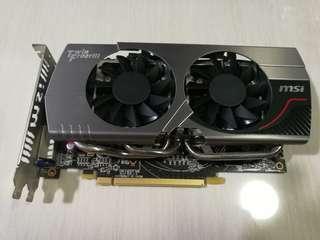 Graphic Card - Radeon 7850 twin frozr 2gb OC