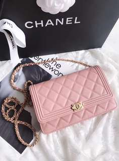 BEST SELLING Chanel Classic Leboy WOC