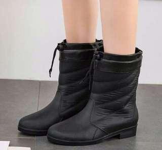 Fashion Rain Boots (Black)