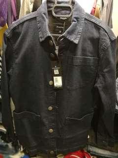New Firetrap Denim Jacket Dark Blue