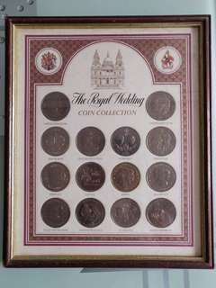 The Royal Wedding Coins Collection - St. Pauls Cathedral