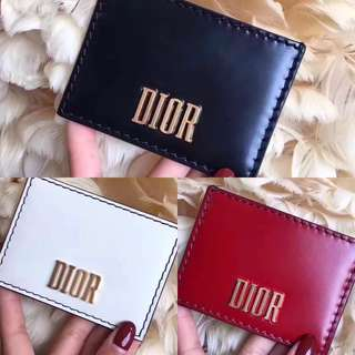 Christian Dior Dfence Card Cases