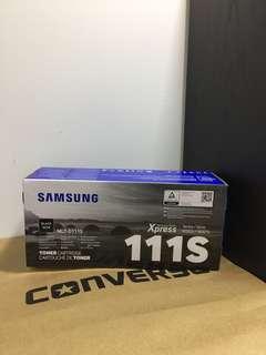 Samsung D111s Toner Cartridge, Printer Cartridge Genuine, Authentic, MLT-D111s, M2020w, M2070FW Printer, Samsung 111s Toner Cartridge