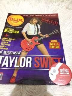 Taylor Swift Myx Magazine