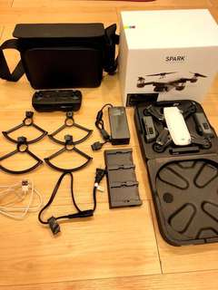 DJI SPARK NEW (Fly More Combo -18months warranty)