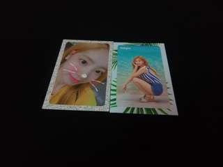 Twice summer night dahyun photocard