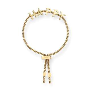 Chloe 'Messages' happy bracelet 新款推出 黃銅 琺瑯 手鍊 手鏈 手镯 (CH3-135)
