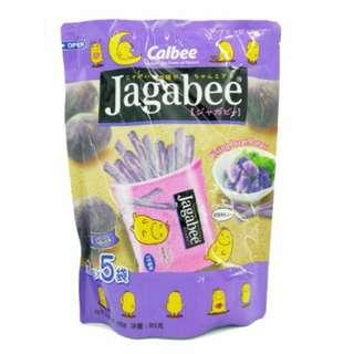Jacabee 加卡比 紫色薯條 袋裝 85公克(17公克*5小包)