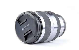 二手 SONY SEL18200 F3.5-6.3 E接環 18-200mm 望遠變焦鏡頭 旅遊鏡 公司貨