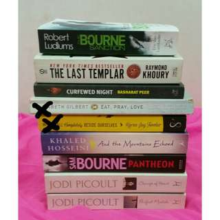 Preloved Books @180php each