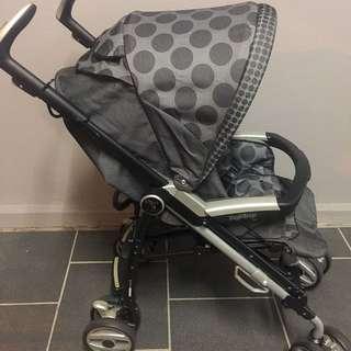 🇮🇹 Stroller Peg Perego Pliko P3 Compact latest design