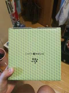 金在中 jaejoong cafe jholic 綠盒黃杯 茶杯套裝 全新