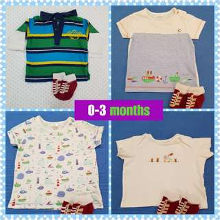 TakeAll Baby Boy Tops Shirt 0-3 months