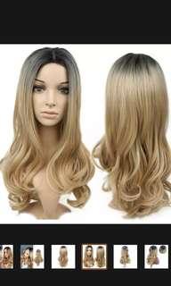🚚 Blonde Wig