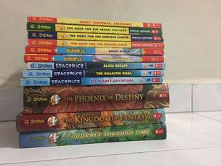🔥🔥Clearance Sale!!💥🔥 Selling all my Geronimo Stilton books