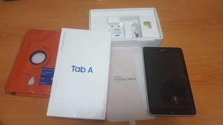 全新 Samsung Galaxy Tab A2 Lte + Case