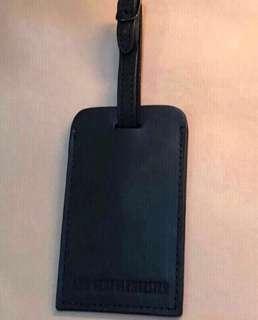 Authentic Ann Dem black travel tag 旅行吊牌 luggage rick Owens ysl rimowa