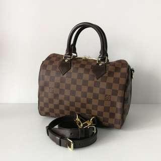 Authentic Louis Vuitton Speedy 25 Bandouliere