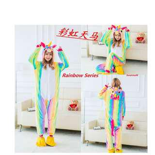Rainbow series Unciorn Onesie*New 2018 Colour*Cosplay*Unicorn Costume