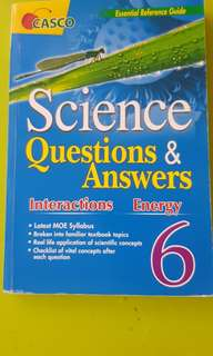 P6 Science Questions & Answers: Interactions / Energy